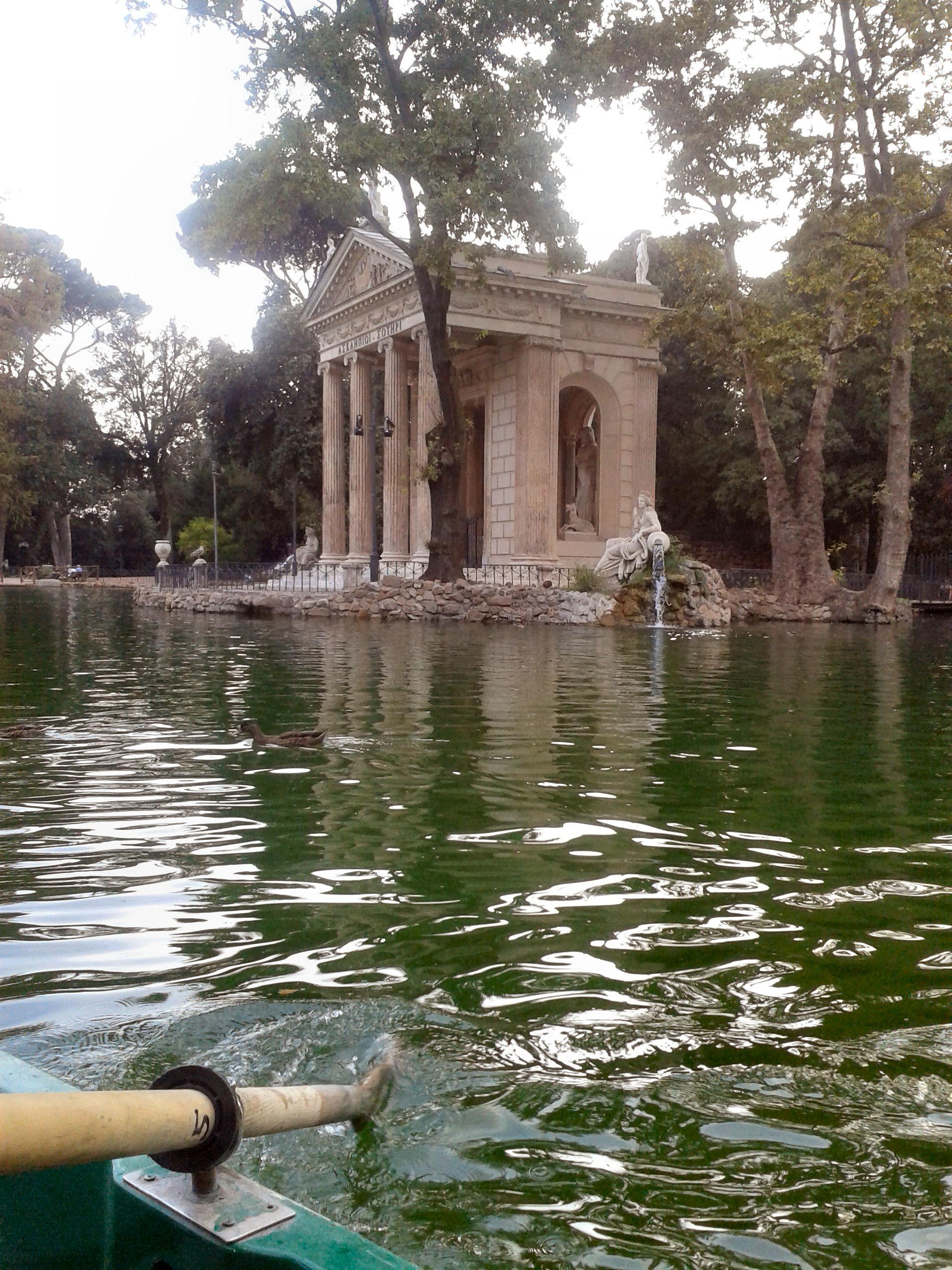 Orari Laghetto Villa Borghese