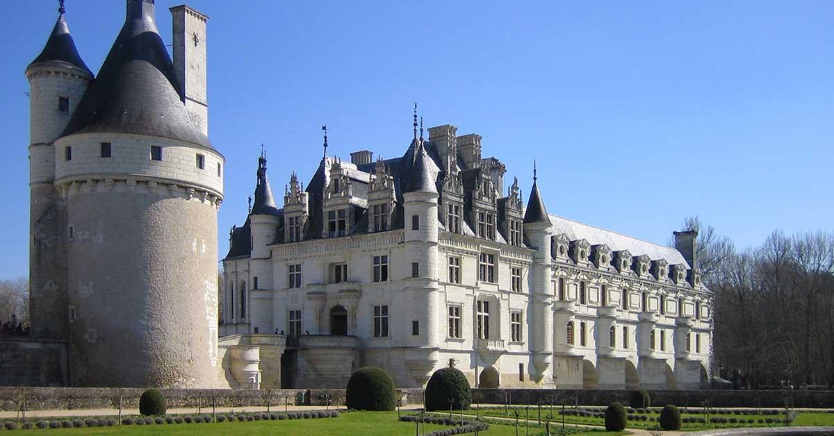 castelli della loira con i bambini