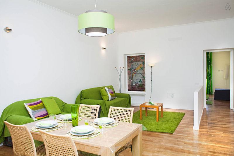 Testaccio green suite family welcome for Nuove case con suite suocera