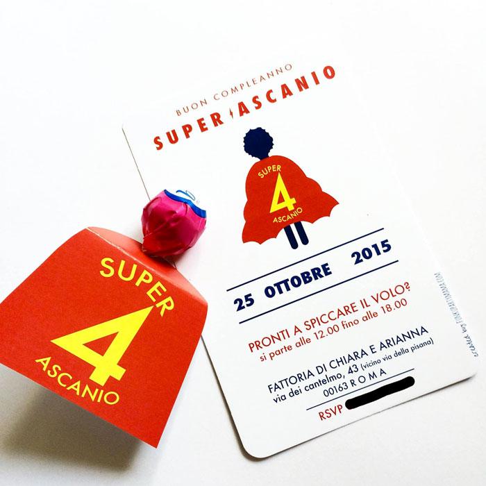 festa a tema supereroi