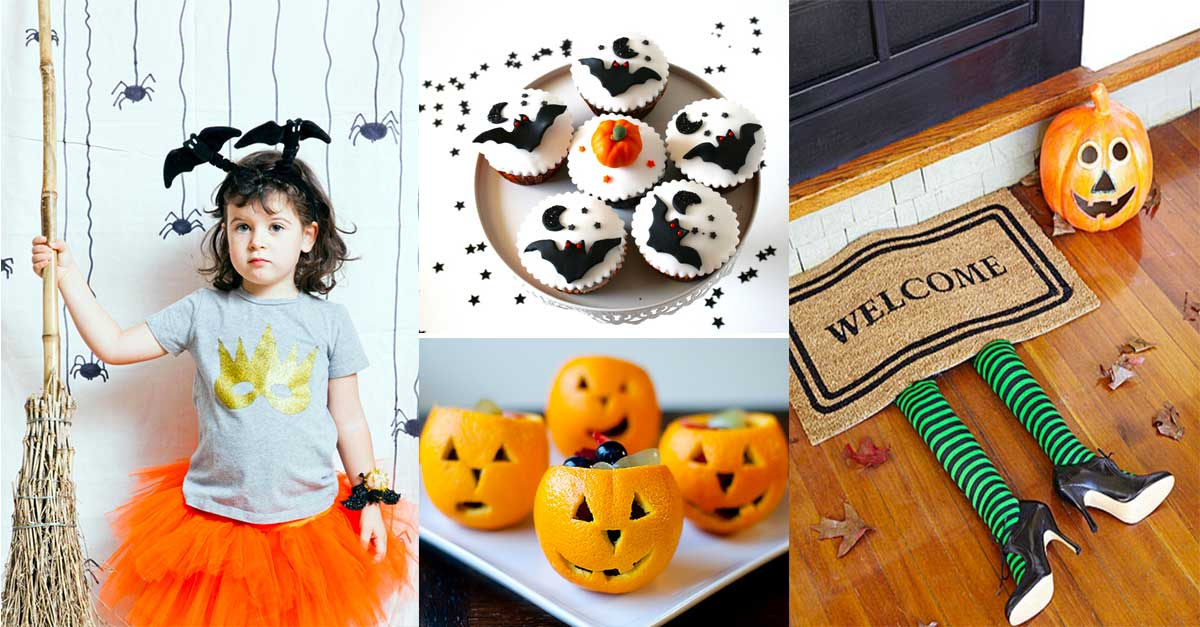 15 idee diy e non solo per una festa di halloween super family welcome. Black Bedroom Furniture Sets. Home Design Ideas