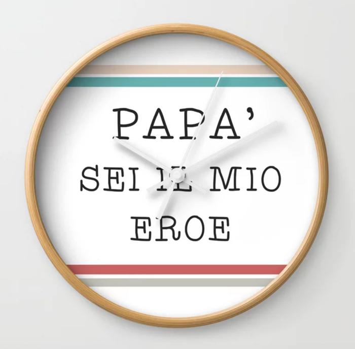 festa-del-papa-orologio-da-muro