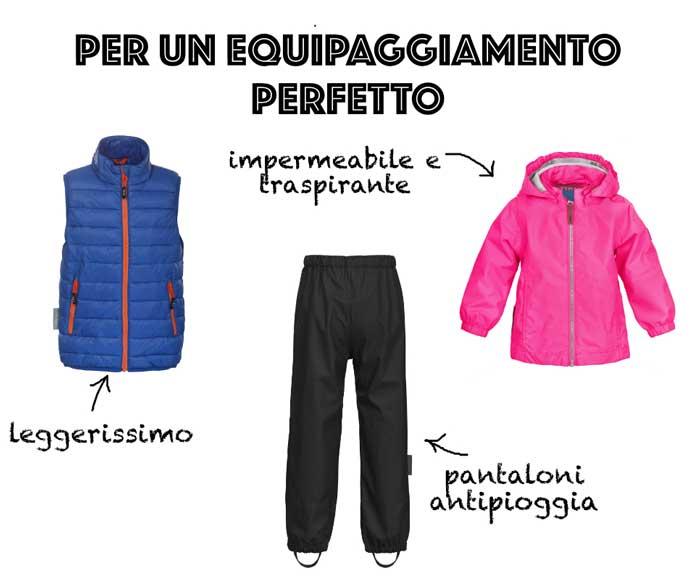 abbigliamento tecnico per bambini