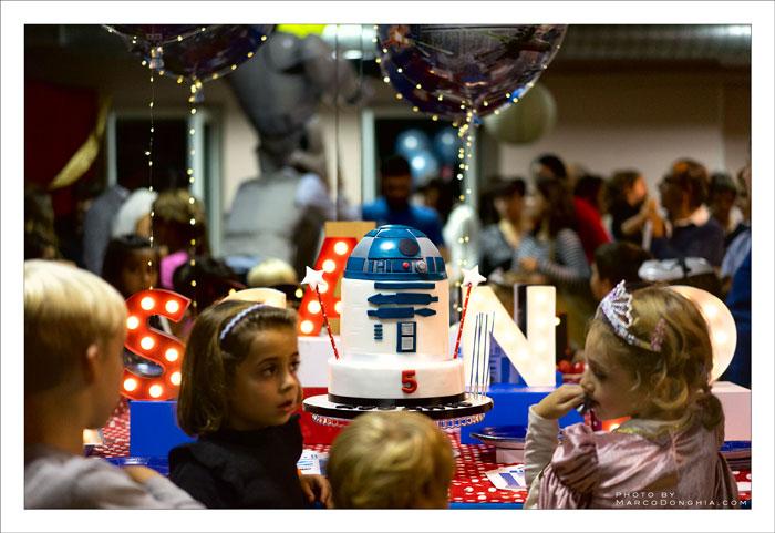 festa a tema Star Wars