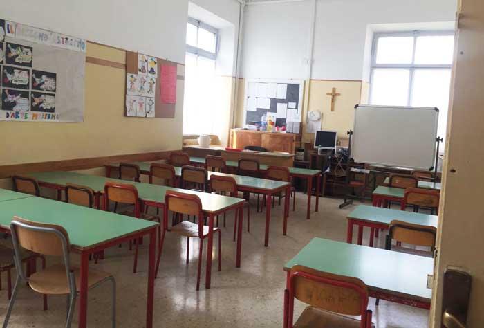 scuola nel centro di Roma