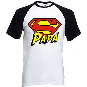 maglietta super papa