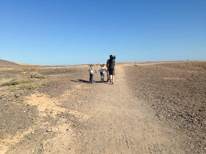Lanzarote con i bambini