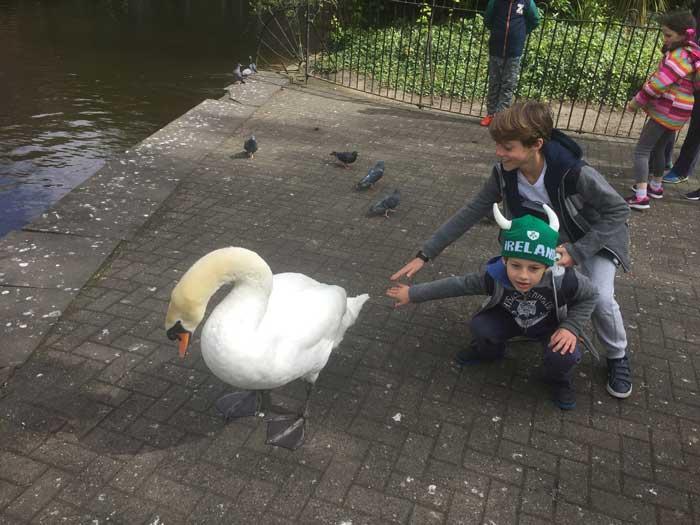 Dublino con i bambini