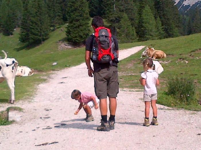 Cortina d'estate con i bambini