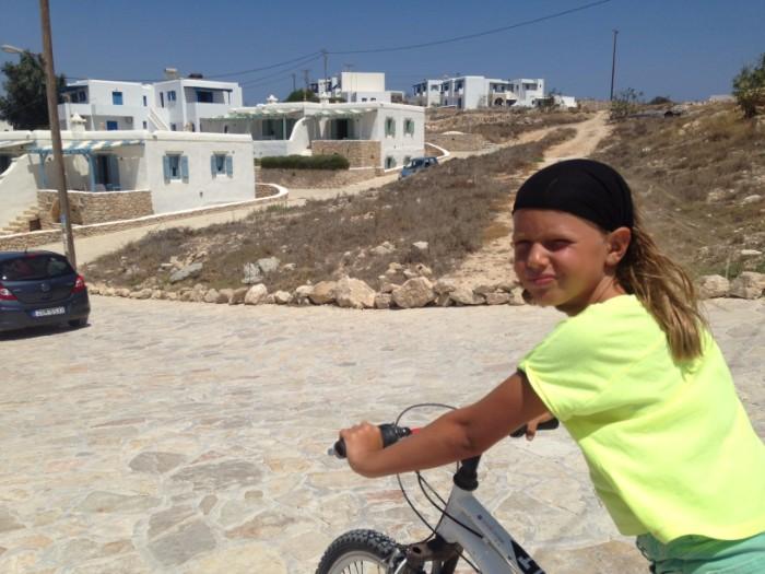 Grecia in bicicletta con i bambini