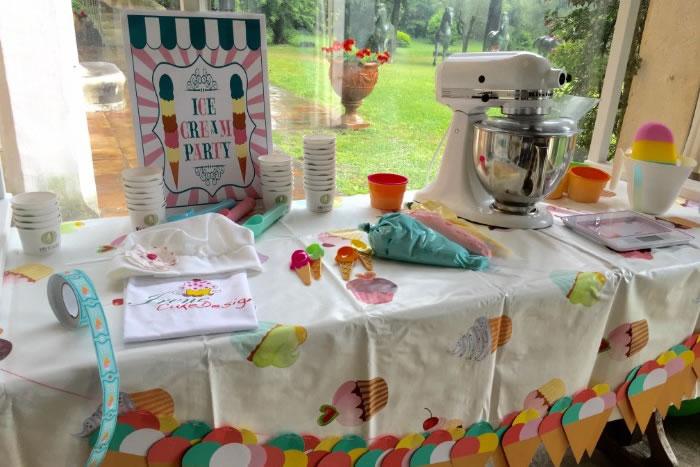 imparare a fare il gelato con i bambini