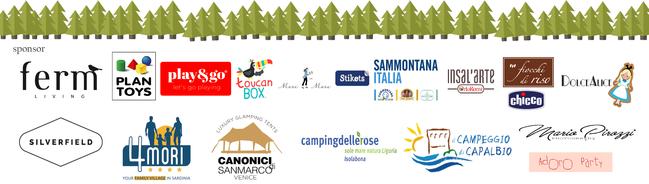 SPONSOR glamping party