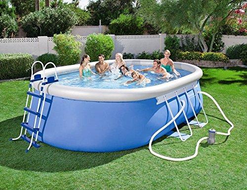 Le migliori piscine da giardino combattiamo il grande for Piscina in un giardino piccolo
