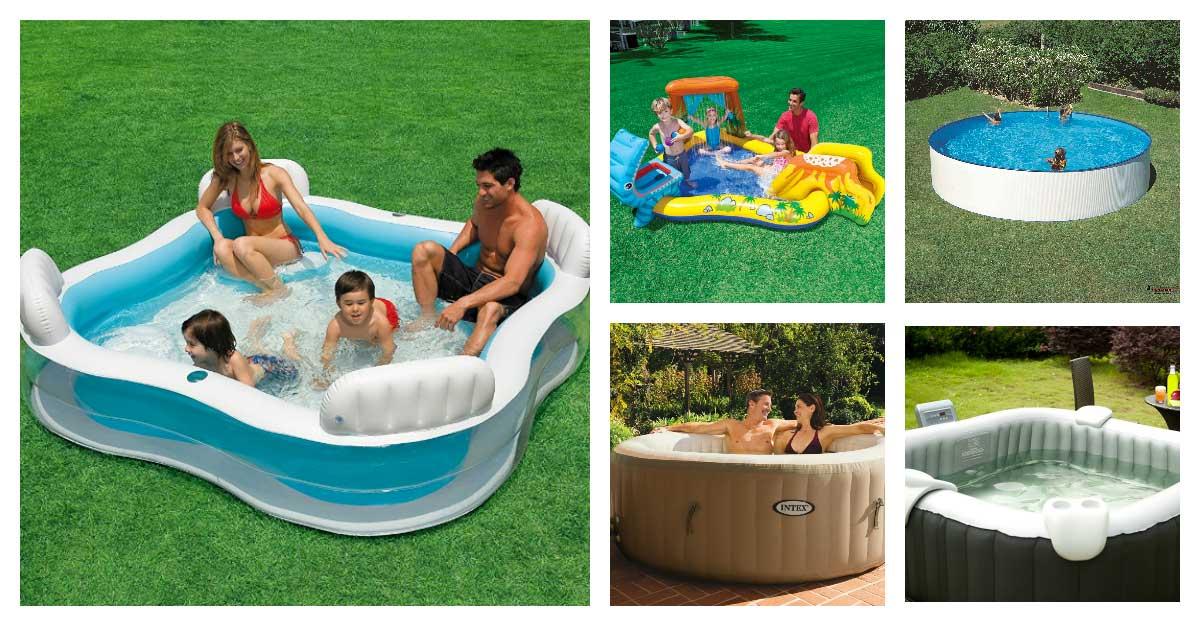 Le migliori piscine da giardino combattiamo il grande for Piscina in giardino