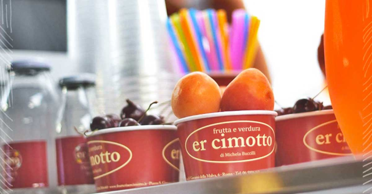 food truck di frutta e verdura a roma