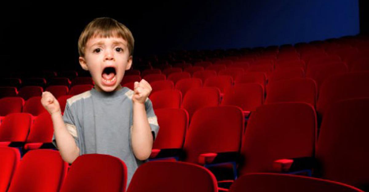 al cinema con i bambini