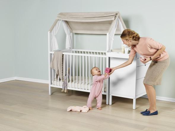 insegnare a dormire da soli nella loro cameretta