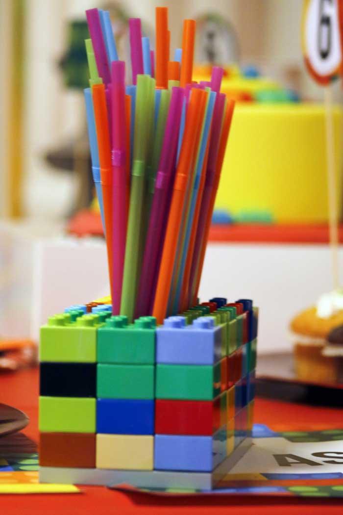 festa a tema Lego allestimenti