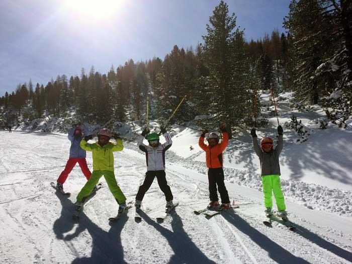 scuola sci a Cortina d'Ampezzo
