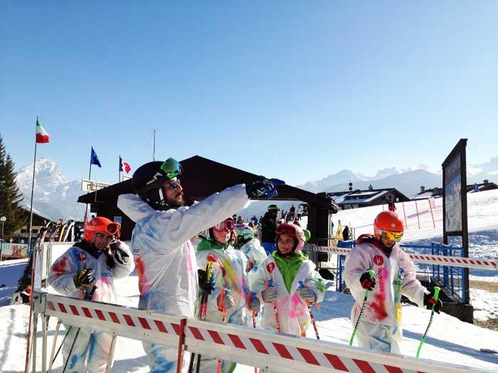 L'inverno a Cortina d'Ampezzo con i bambini