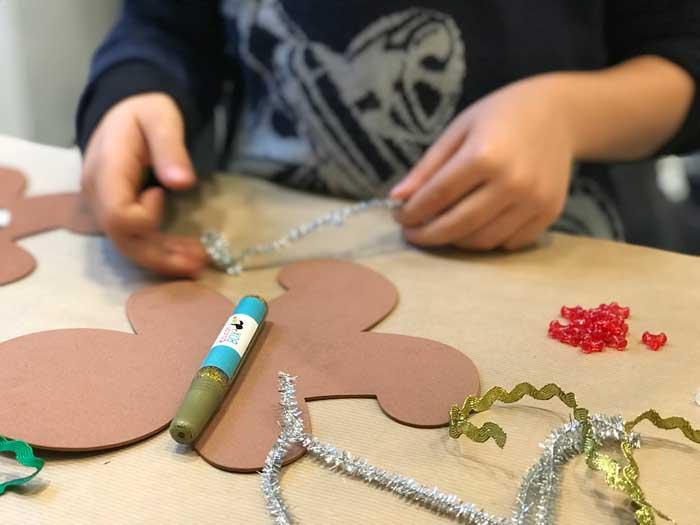 laboratori di Natale per bambini