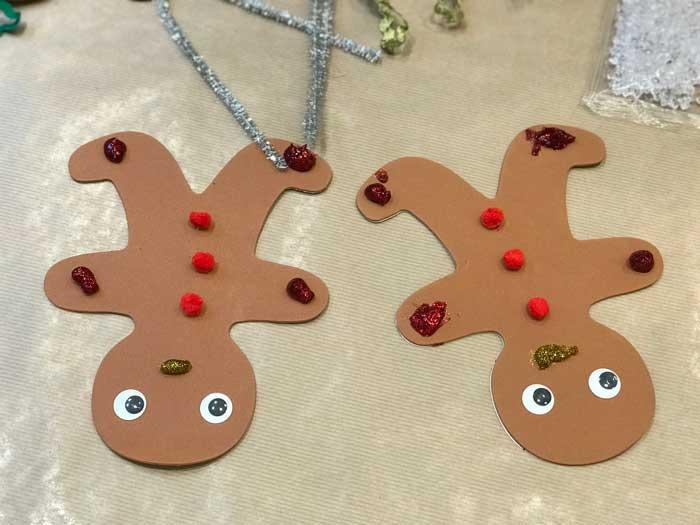 decorazioni di Natale fatte dai bambini