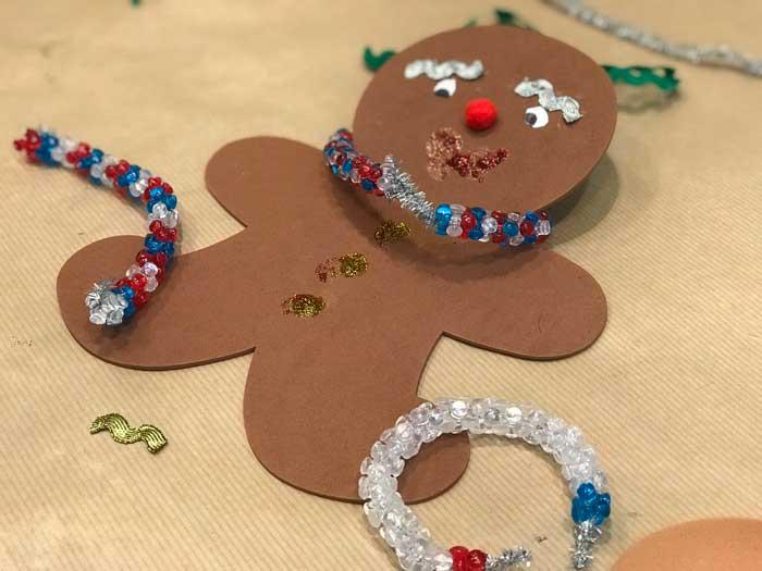 decorazioni di Natale realizzate dai bambini