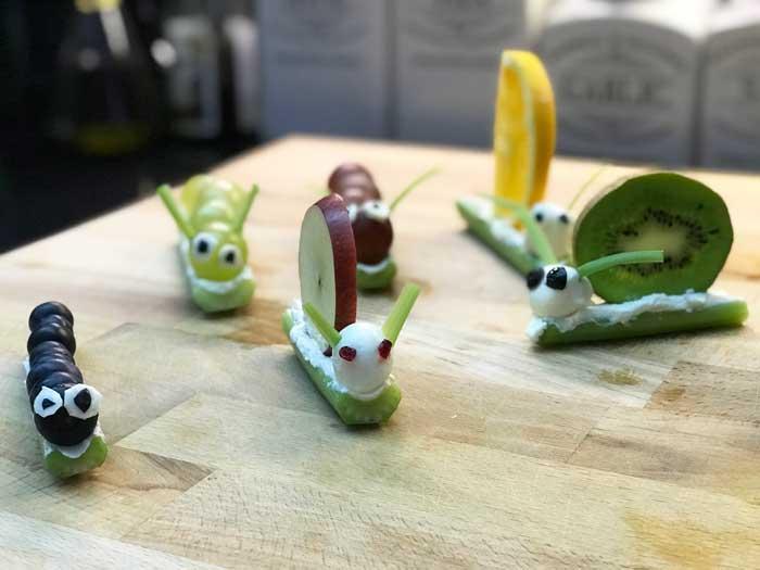 preparare una merenda per i bambini divertente