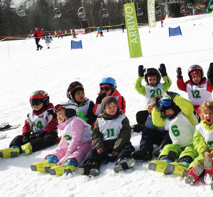 L'inverno con i bambini a Cortina d'Ampezzo
