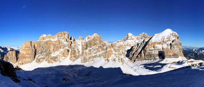 settimana bianca in famiglia a Cortina d'Ampezzo