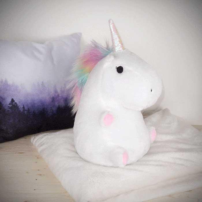 cuscino unicorno regali per natale