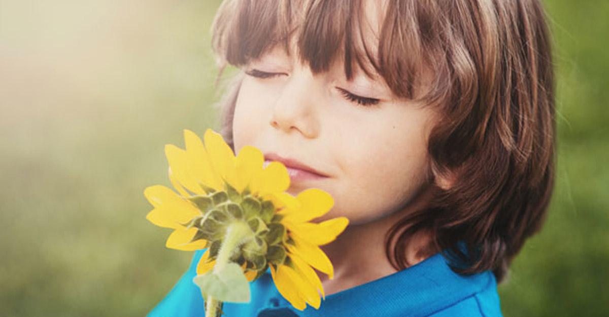 Il profumo nello sviluppo del bambino