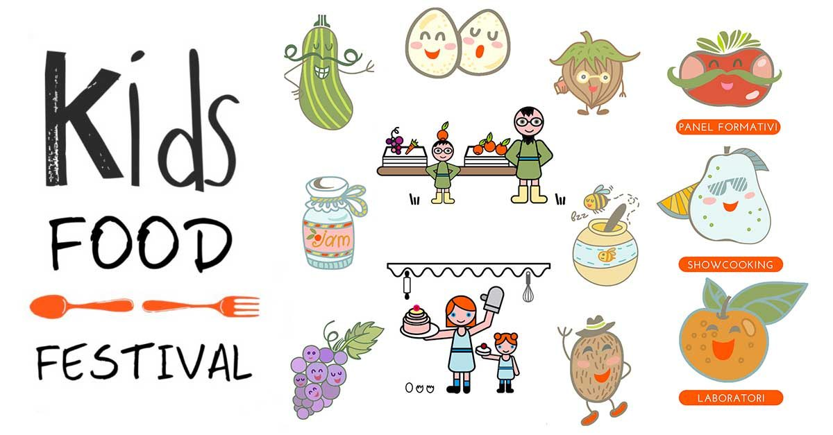 kids food festival del cibo