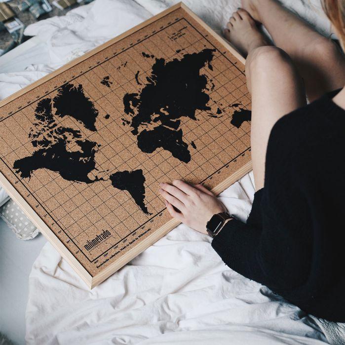 mappa del mondo regali per natale