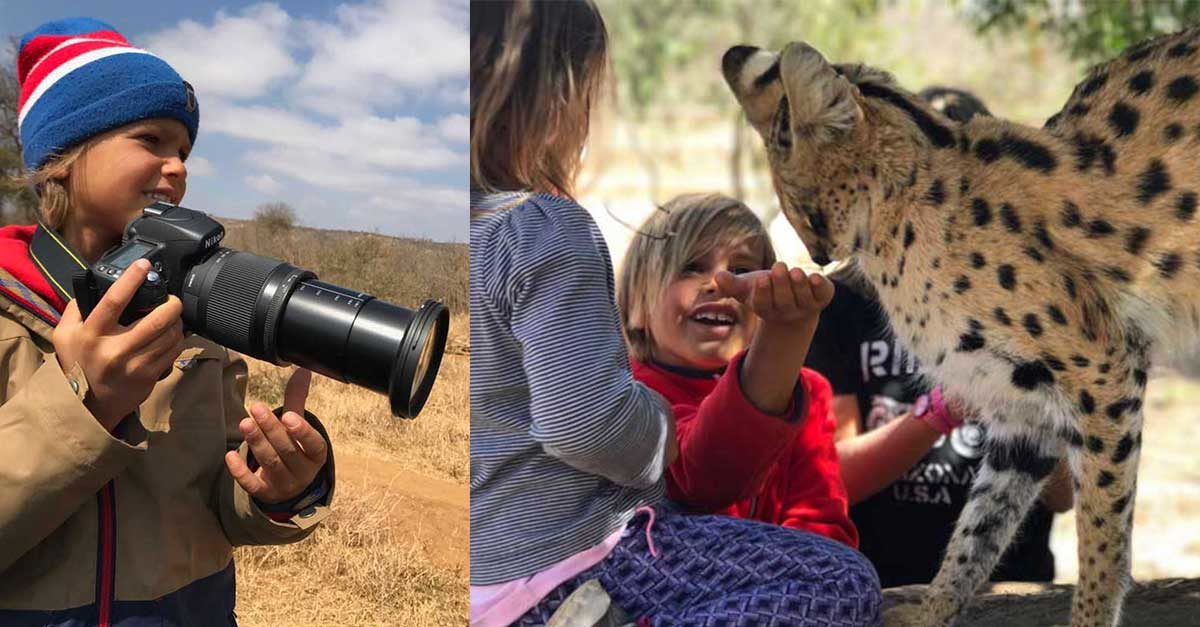 safari in Sudafrica con i bambini