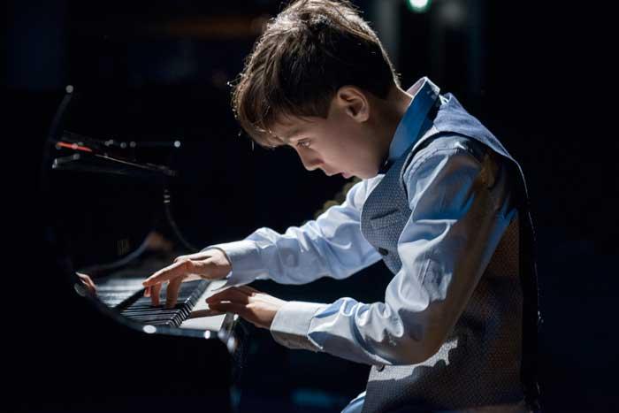 concerto di musica dei bambini