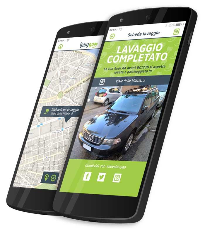 servizio di eco-lavaggio a domicilio per auto e moto a Roma