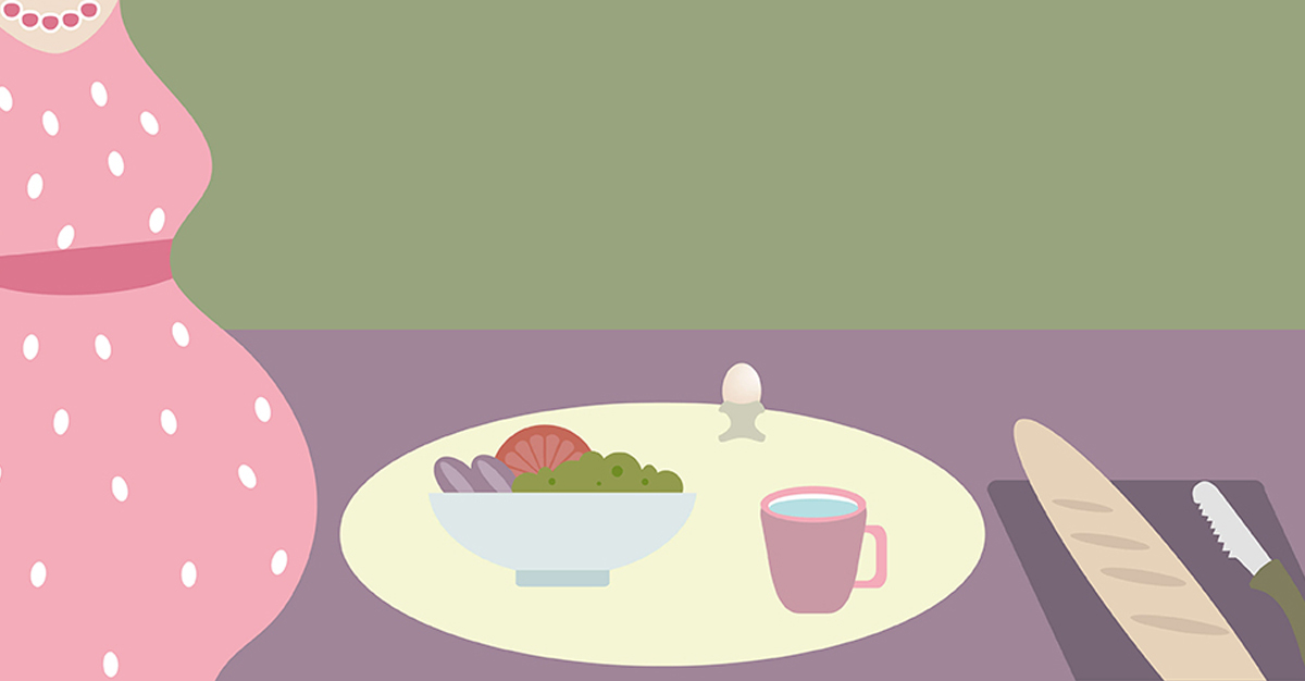 Rischi alimentari in gravidanza