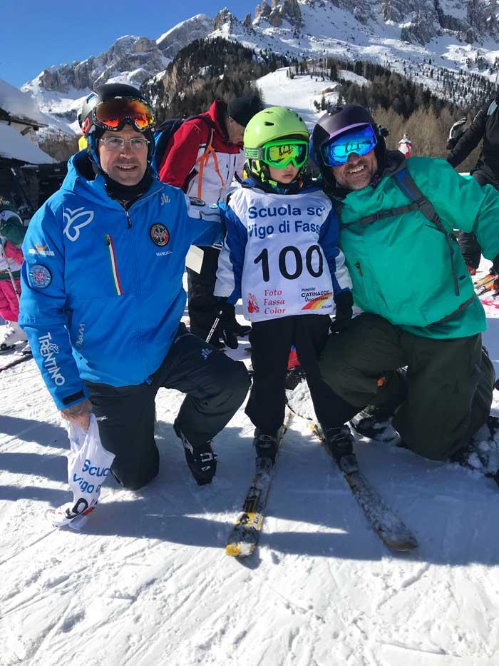 scuola sci vigo di fassa corsi per bambini