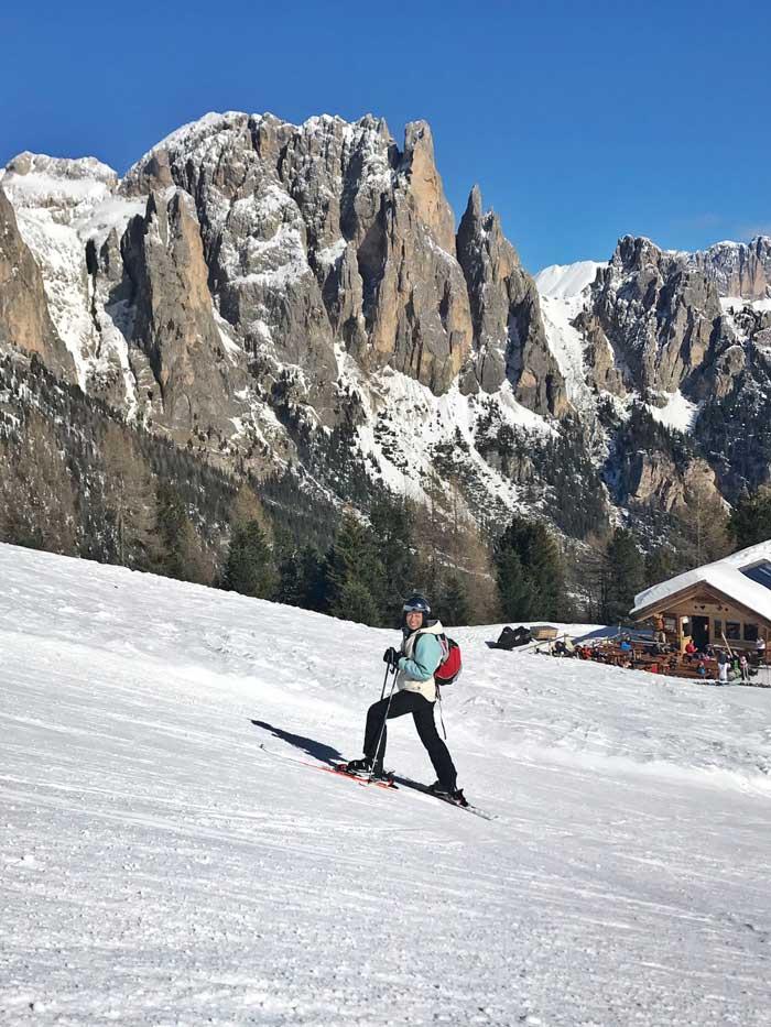 sciare in val di fassa con i bambini