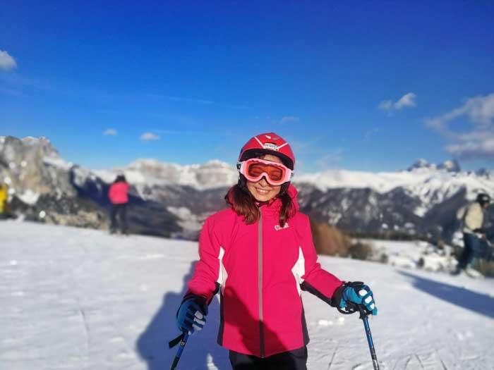 sciare val di fassa con i bambini