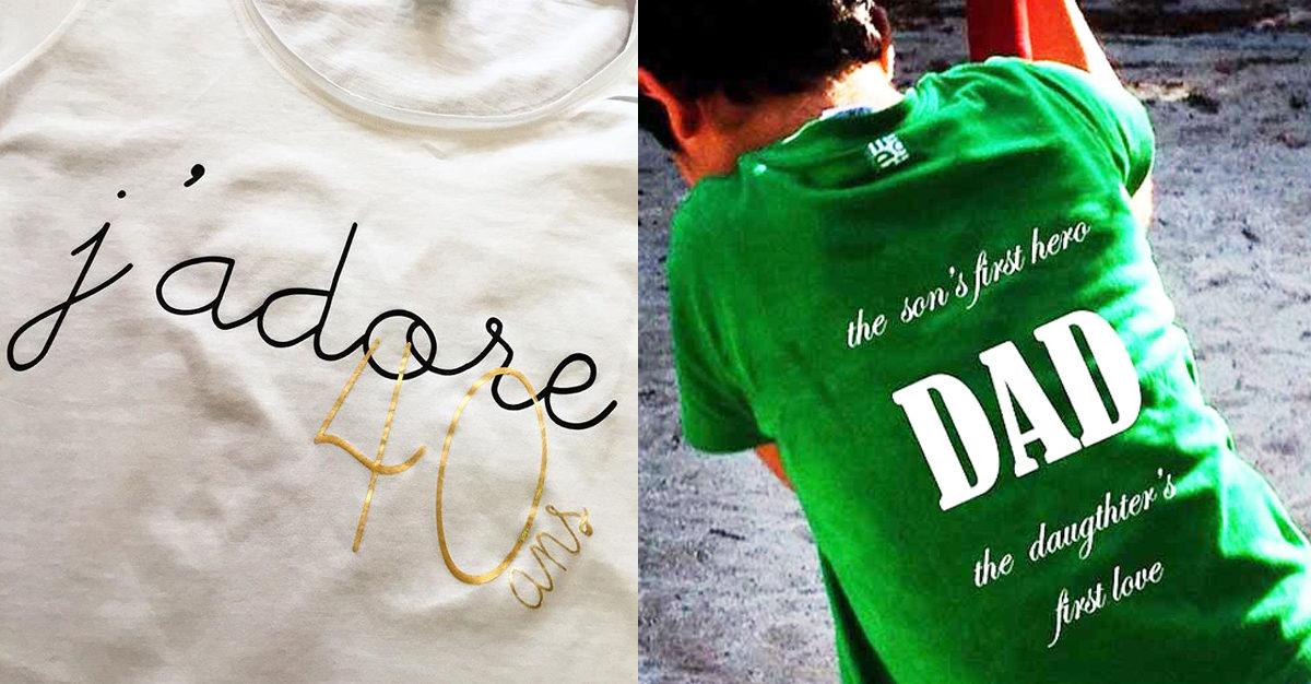 magliette e accessori personalizzati