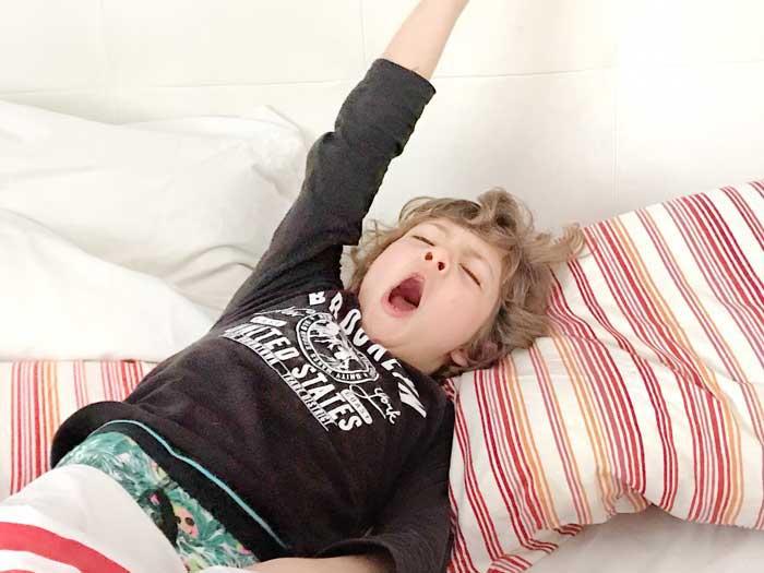 per essere bravi a scuola bisogna dormire bene