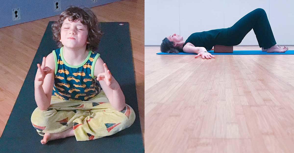 yoga a roma per mamma e bambini