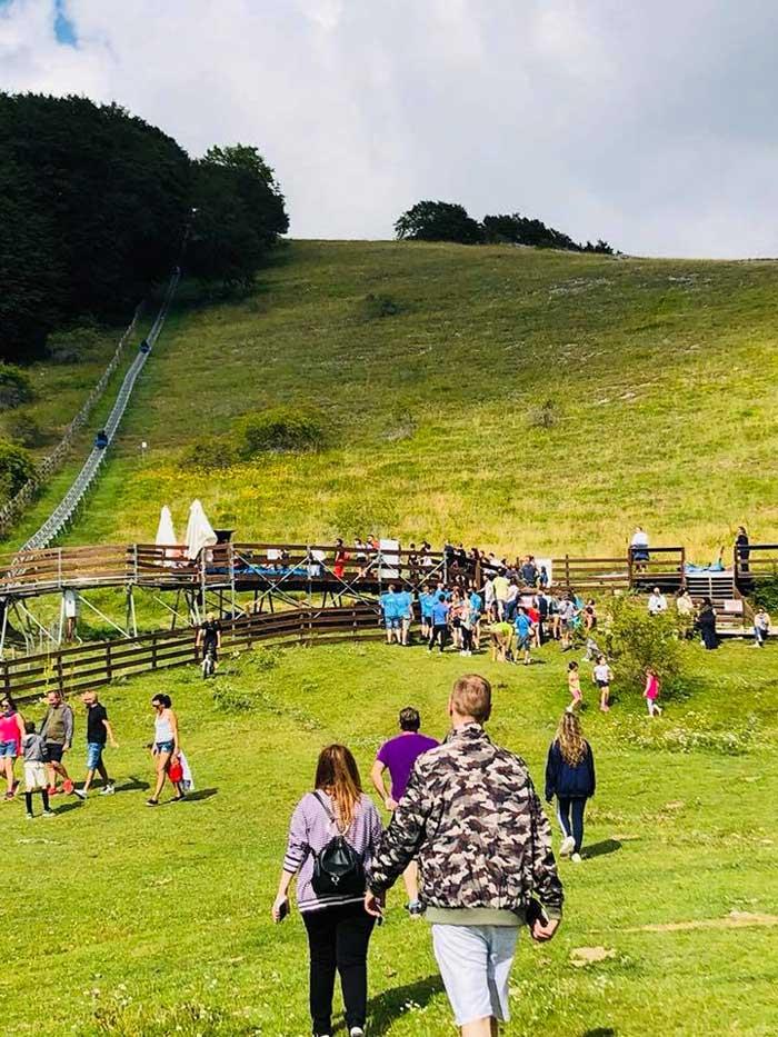 Monte Livata in estate