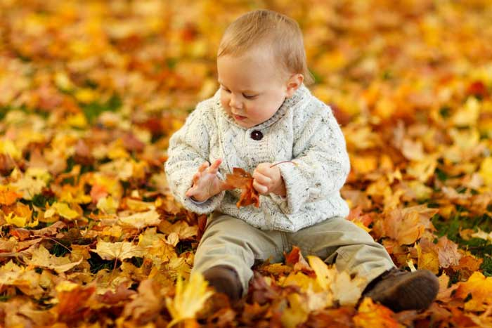 abbigliamento dei bambini in autunno