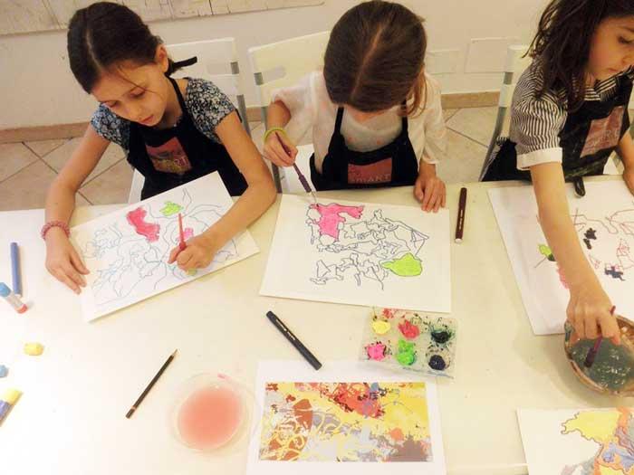 imparare l'inglese attraverso l'arte