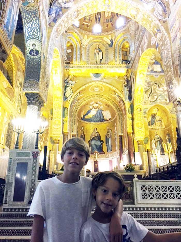 Sicilia orientale con i bambini