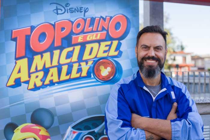 Topobolide di Topolino e gli amici del Rally