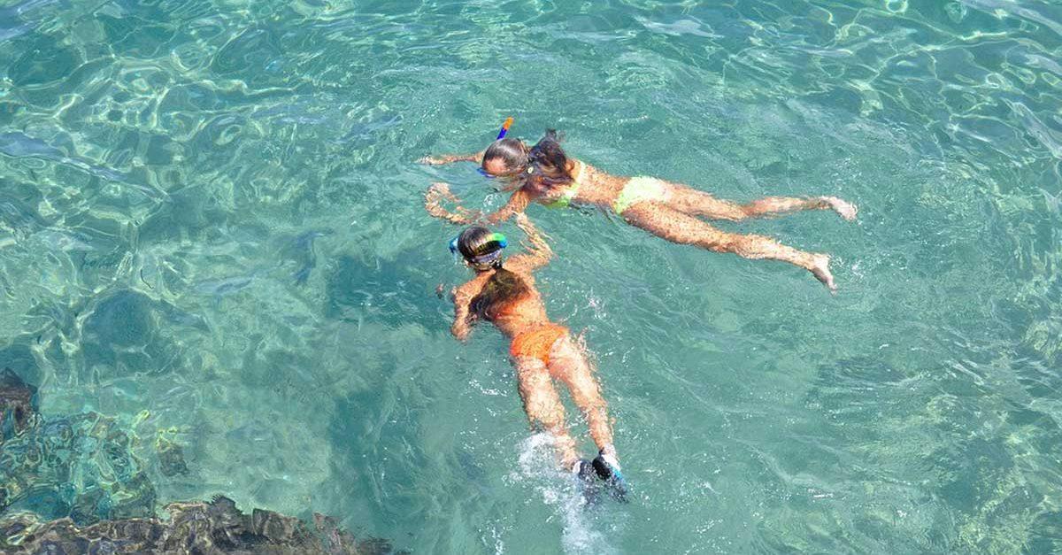 Vacanza al mare con la famiglia